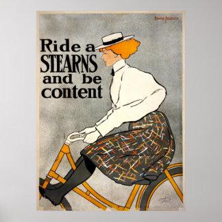 Impression fine de la bicyclette de STEARN