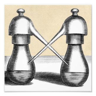 Impression Photo Appareil de laboratoire jumel d'alambic