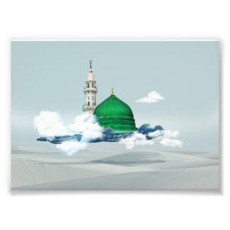 Impression Photo Arabe oriental c de toile de Madina de conception