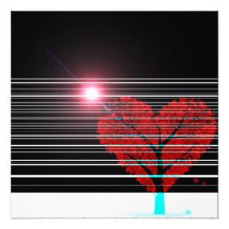 Impression Photo arbre d'amour