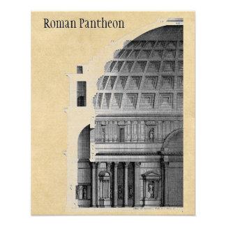 Impression Photo Architecture classique de Panthéon romain