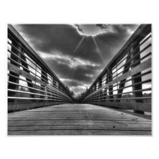 Impression Photo Au-dessus du pont