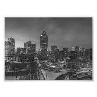 Impression Photo B&W Montréal