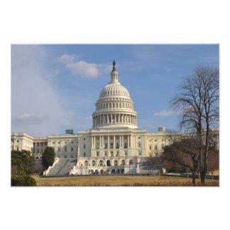 Impression Photo Bâtiment de Capitol Hill de Washington DC
