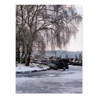 IMPRESSION PHOTO CANAL D'HIVER