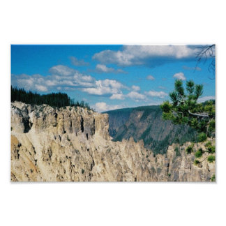 Impression Photo Canyon grand de Yellowstone
