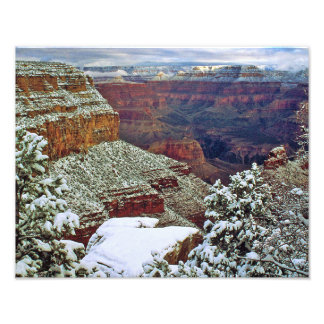 Impression Photo Canyon grand en hiver