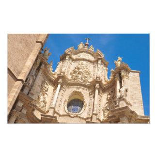 Impression Photo Cathédrale à Valence, Espagne