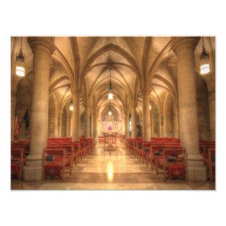 Impression Photo Chapelle nationale de Bethlehem de cathédrale de
