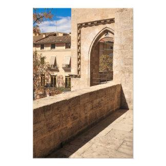 Impression Photo Château à Valence, Espagne