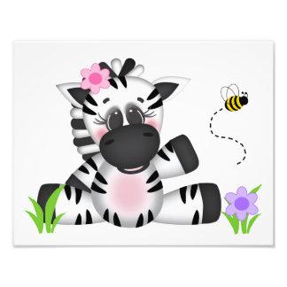 Impression Photo Copie animale d'art de mur de crèche de bébé de
