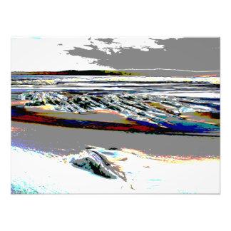 Impression Photo Copie d'abrégé sur Beach de Bridgewater N.S.