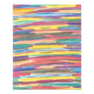 Impression Photo Copie d'art abstrait de spectre d'arc-en-ciel