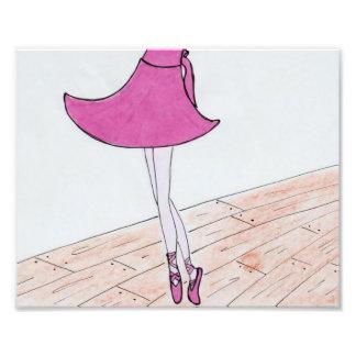 Impression Photo Copie de satin de danseur classique. 8 x 10.