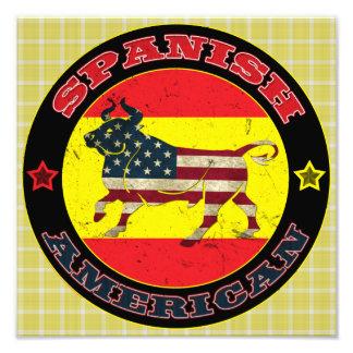 Impression Photo Copie hispano-américaine d'affiche de Taureau
