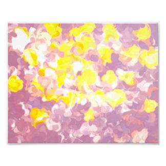 """Impression Photo Copie vintage florale 10"""" x 8"""", (satin)"""