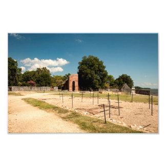 Impression Photo Église de Jamestown