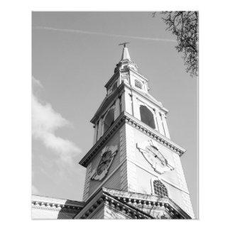 "Impression Photo Église Steeple 16"" x 20"" copie"