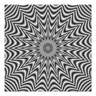 Impression Photo Étoile monochrome