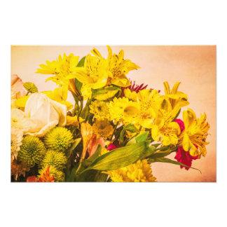 Impression Photo Fleurs jaunies