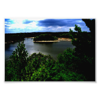 Impression Photo Forêt et un lac