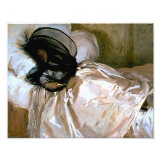 Impression Photo John Singer Sargent - la moustiquaire