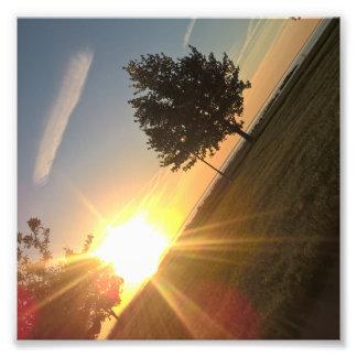 Impression Photo L'angle de matin
