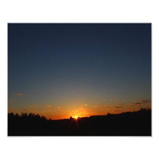 Impression Photo Lever de soleil de début de la matinée et été 2016