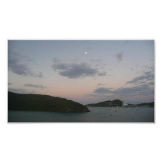Impression Photo Lever de soleil en Îles Vierges américaines de St