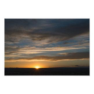 Impression Photo Lever de soleil oriental