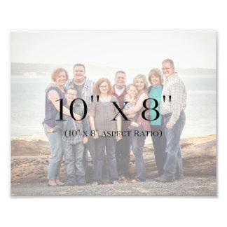 Impression Photo MODÈLE des photos de famille 10x8