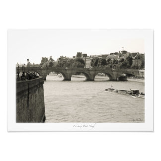 Impression Photo Paris, La Seine