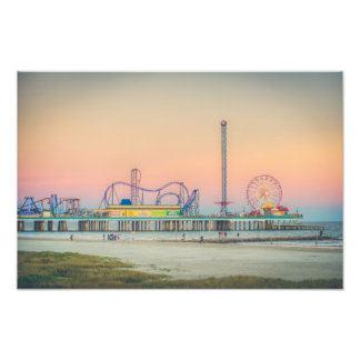 Impression Photo Pilier de plaisir de Galveston