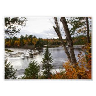 Impression Photo Rivière de Tahquemenon, Michigan