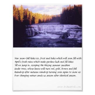 Impression Photo Saisons - photo, poème