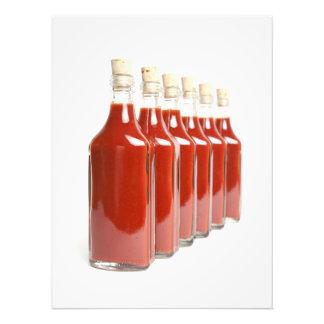 Impression Photo Sauce d'un rouge ardent