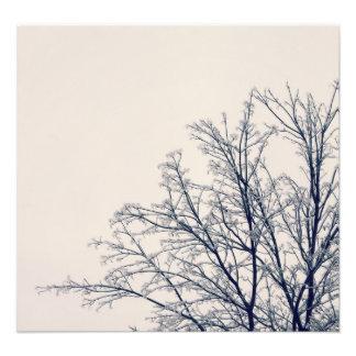 Impression Photo Scène d'hiver