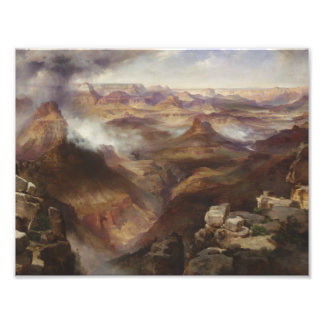 Impression Photo Thomas Moran - canyon grand du fleuve Colorado