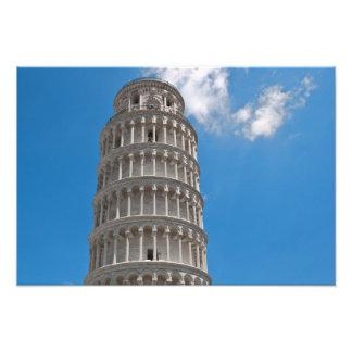 Impression Photo Tour penchée de Pise en Italie