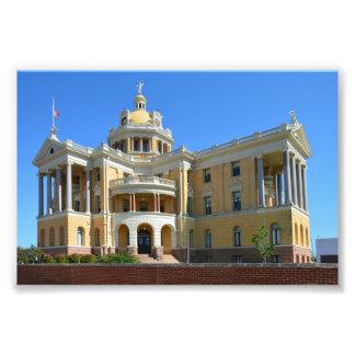 Impression Photo Vieux tribunal du comté de Harrison, Marshall, le