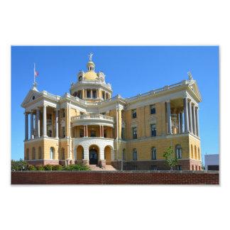 Impression Photo Vieux tribunal du comté de Harrison, Marshall, TX