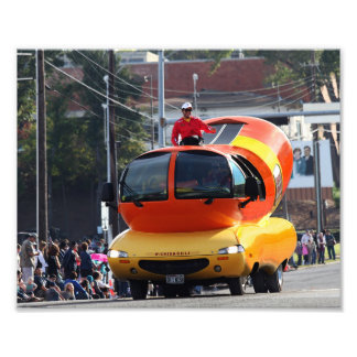 Impression Photo Voiture de hot-dog