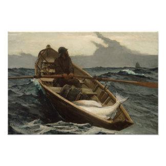 Impression Photo Winslow Homer - l'avertissement de brouillard