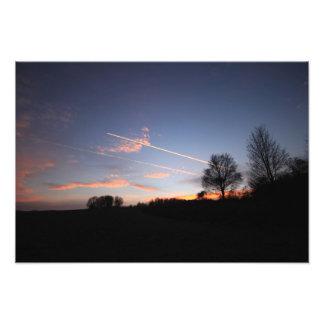 Impression Photo Winter sunset