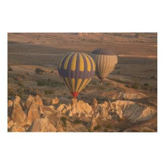 Impression Sur Bois Air chaud montant en ballon en Turquie