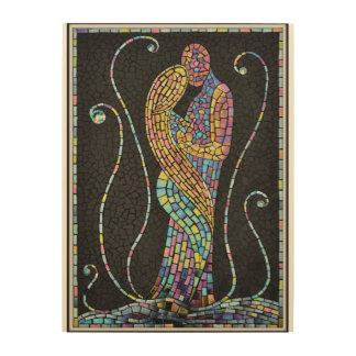 Impression Sur Bois Amour de mosaïque