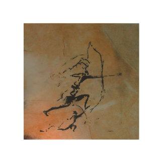 Impression Sur Bois Archers de caverne de Remigia