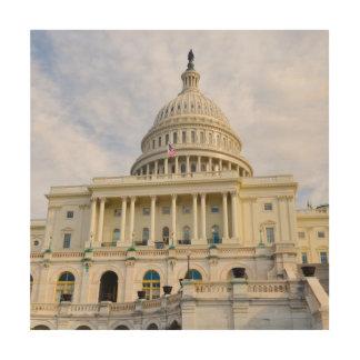 Impression Sur Bois Bâtiment de Capitol Hill dans le Washington DC