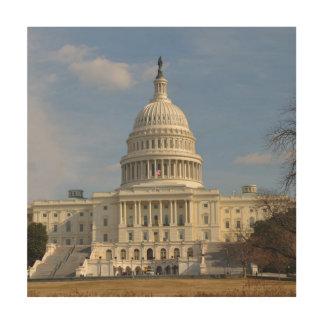 Impression Sur Bois Bâtiment de Capitol Hill de Washington DC