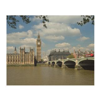 Impression Sur Bois Big Ben à Londres
